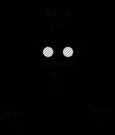 图 1 天线去耦合芯片电路原理图